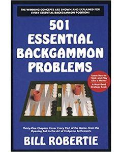 Bill Robertie 501 Essential Backgammon Problems