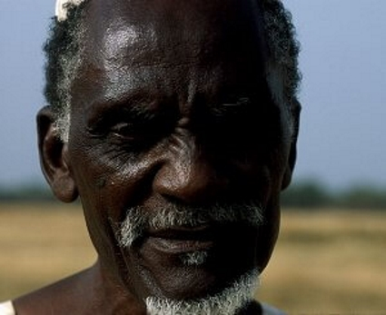 An African tribal leader